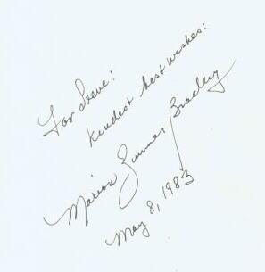 Author Signature and Autograph Examples - Kruegerbooks com